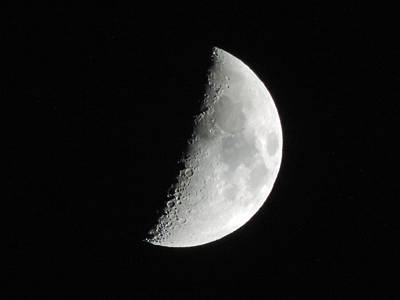Photograph - Half Moon by Cathy Jourdan