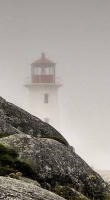 Halifax Fog Art Print