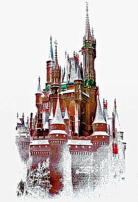 Steve Harrington Digital Art - Hall Of The Snow King  by Steve Harrington