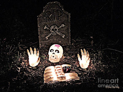 Photograph - Halloween Spooks by Eve Spring