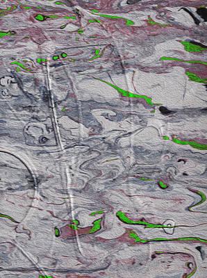 Hallucinating On The Green Stuff Art Print