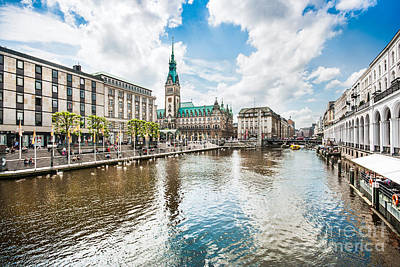 Germany Photograph - Hamburg by JR Photography