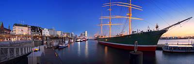 Photograph - Hamburg Panorama by Marc Huebner