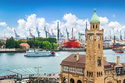 Steamboat Photograph - Hamburg Speicherstadt by JR Photography