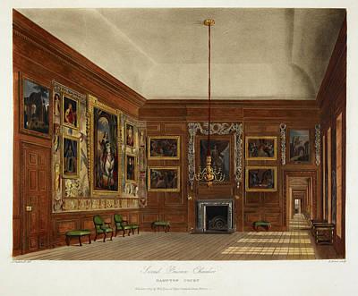 Hampton Court Art Print by British Library