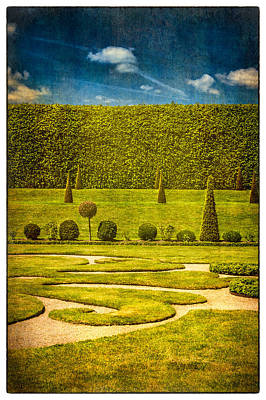 Photograph - Hampton Court 'the Privy Garden by Lenny Carter