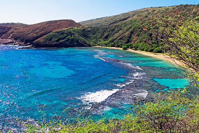 Photograph - Hanauma Bay Hawaii by Lars Lentz