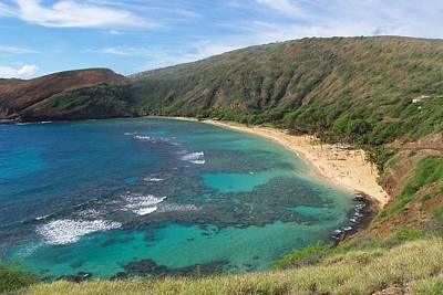 Hanauma Bay Oahu Hawaii Art Print
