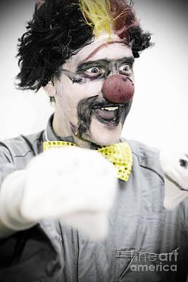 Clown Photograph - Hand Puppet Show by Jorgo Photography - Wall Art Gallery
