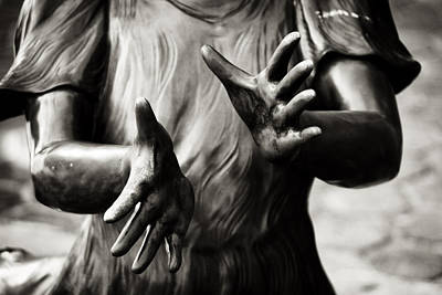 Photograph - Hands by Daniel Amick