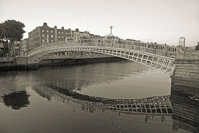 Ha'penny Bridge Dublin Ireland Art Print by Betsy Knapp