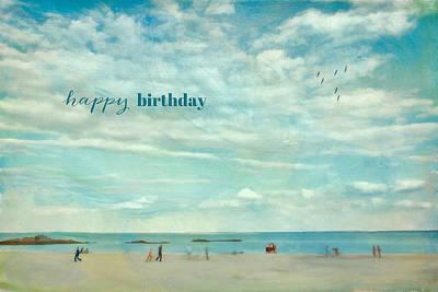 Garden Fruits - Happy Birthday by June Marie Sobrito