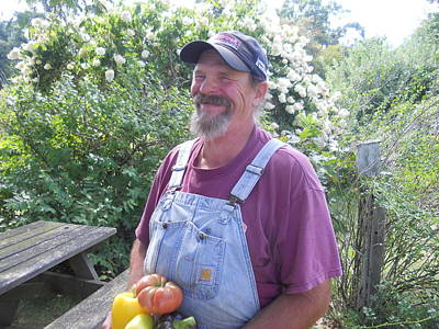 Photograph - Happy Farmer Gardener by Diannah Lynch