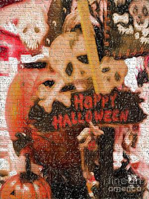 Jacko Photograph - Happy Halloween by Gillian Singleton