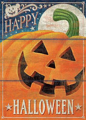 Halloween Sign Painting - Happy Halloween by P.s. Art Studios
