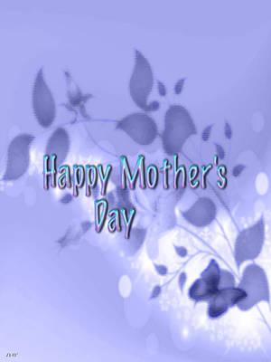 Digital Art - Happy Mothers Day by Debra     Vatalaro