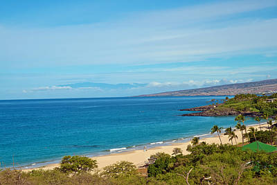 Photograph - Hapuna Beach State Park Hawaii Big Island by Marek Poplawski