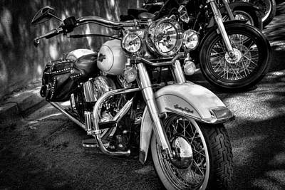 Photograph - Harley Davidson - Heritage Softail by David Patterson