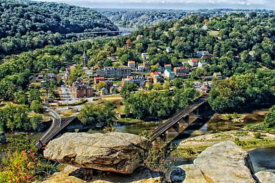 Harpers Ferry Photograph - Harpers Ferry West Virginia by Mountain Dreams