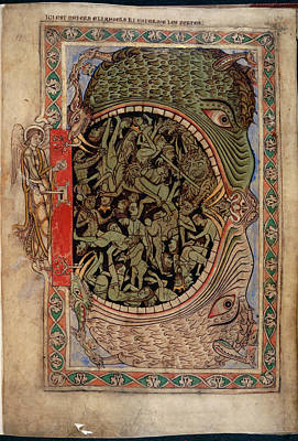 Harrowing Of Hell Art Print by British Library