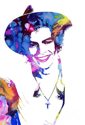 Niall Painting - Harry Styles - One Direction by Doc Braham