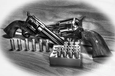 Photograph - Hartford And Ruger Colt Replicas by Paul Mashburn