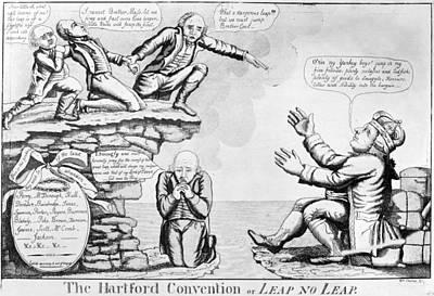 Hartford Convention, 1815 Art Print by Granger