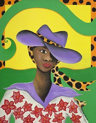 Hat Appeal Art Print by Patricia Sabree