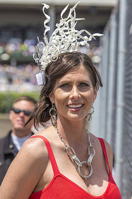 Photograph - Hat At 2014 Kentucky Derby  by John McGraw