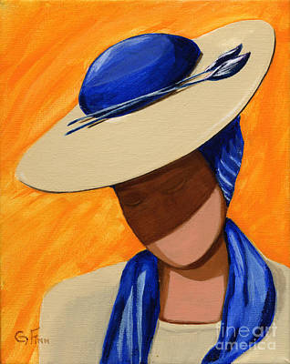 Painting - Hats For A Princess by Gail Finn