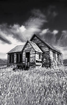 Painting - Haunted Shack by Gregory Dyer