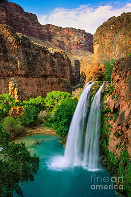 Havasupai Photograph - Havasu Canyon by Inge Johnsson