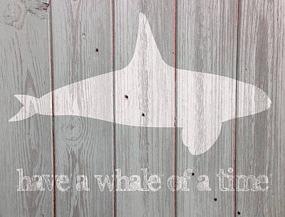 Whale Digital Art - Have A Whale Of A Time by Celestial Images