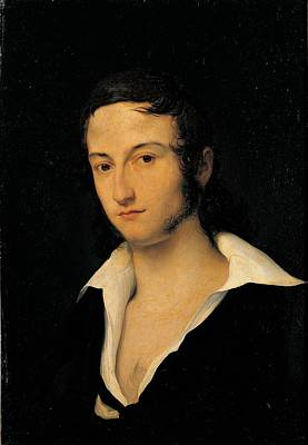 Hayez Francesco, Portrait Of Carlo Art Print by Everett