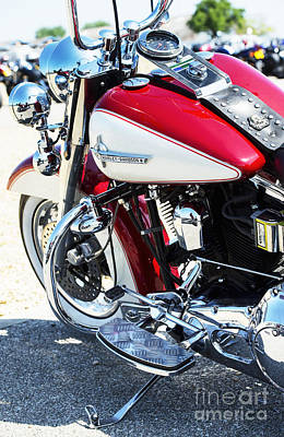 Harley Davidson Photograph - HD by Tim Gainey
