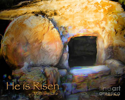 He Is Risen Art Print