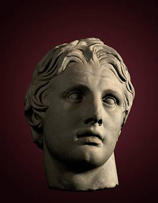 Syria Photograph - Head Of Alexander The Great by David Parker