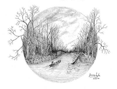 Heading Down The Creek Art Print by Jimmy Taylor