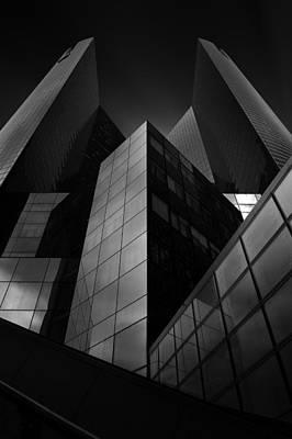 Perspective Wall Art - Photograph - Headquarter by Sebastien Del Grosso