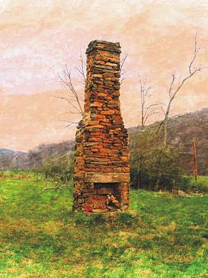 Photograph - Hearth Without A Home by Joe Duket