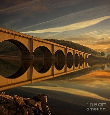 Heavenly Arches Art Print by Nigel Hatton