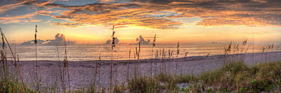 Venice Beach Photograph - Heavenly Sunset  by Gerald Adams