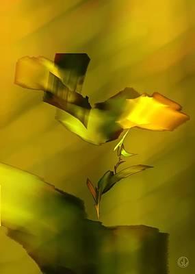 Apophysis Digital Art - Heavy Burden by Gun Legler