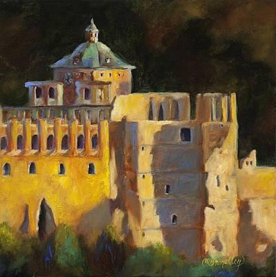 Heidelberg Schloss Art Print
