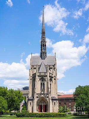 Photograph - Heinz Chapel - Pittsburgh Pennsylvania by John Waclo