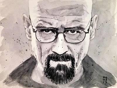 Breaking Bad Painting - Heisenberg by Max Good