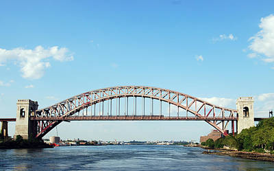 Hell Gate Bridge Art Print
