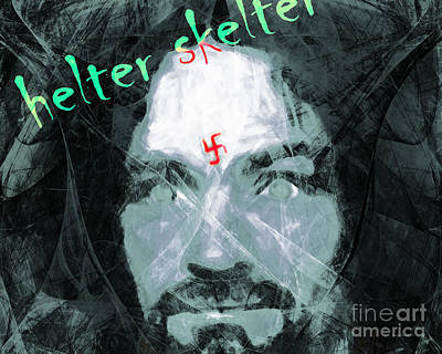 Mentally Disturb Photograph - Helter Skelter 20141213 Horizontal by Wingsdomain Art and Photography