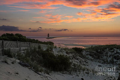 Photograph - Henlopen Sunset by Robert Pilkington