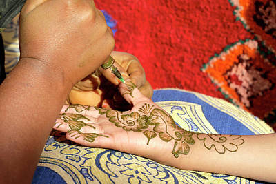 Henna Tattoo Art Print